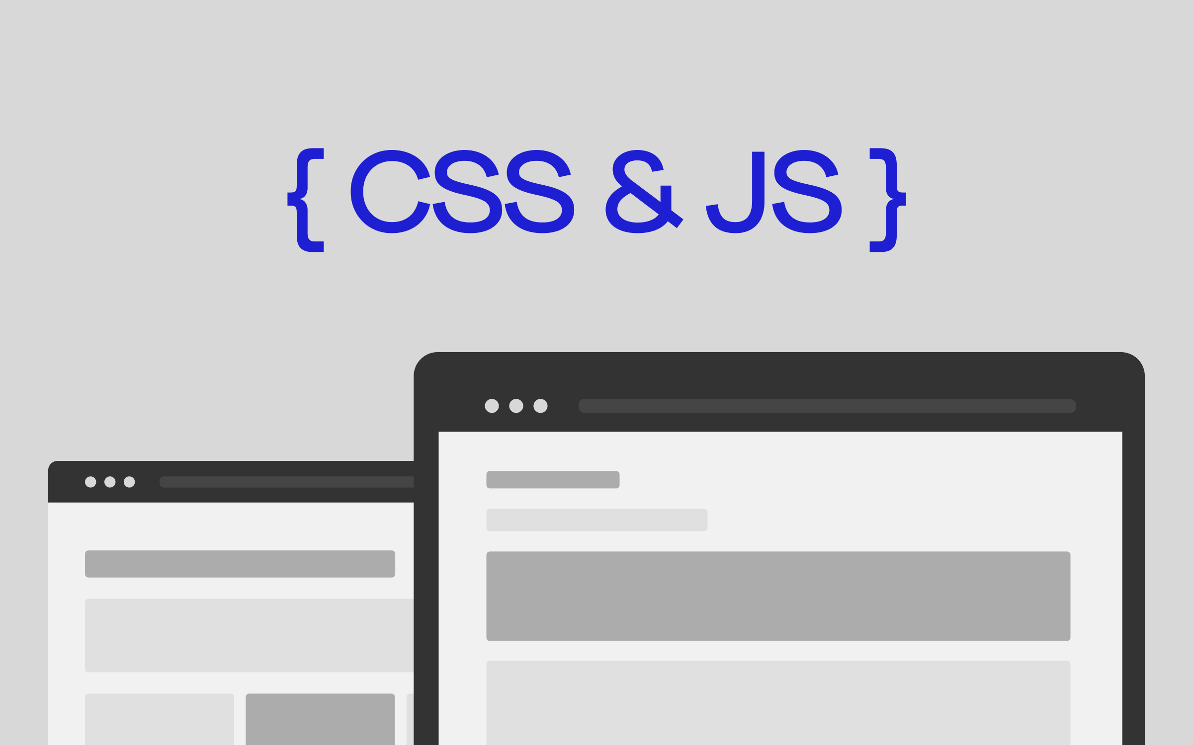 Improving website performance by eliminating render-blocking CSS and JavaScript